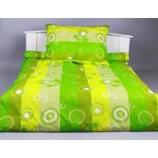 BAVLNĚNÉ POVLEČENÍ 140/200cm - Bublina zelená