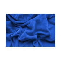 PROSTĚRADLO MIKROFLANEL 90/200cm - Modrá