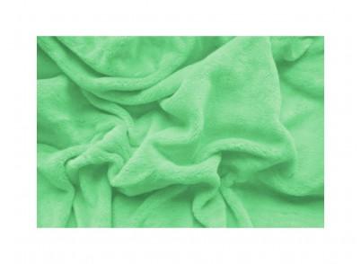 PROSTĚRADLO MIKROFLANEL 180/200cm - Zelená