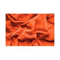 PROSTĚRADLO MIKROPLYŠ 140/200cm - Oranžová