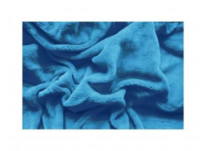 PROSTĚRADLO MIKROFLANEL- 180/200cm - Sv.modrá