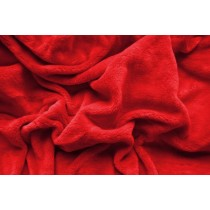 PROSTĚRADLO MIKROFLANEL 180/200cm - Červená